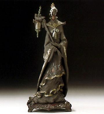 LladroOriental Fantasy W/broochPorcelain Figurine