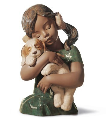 Lladro GABRIELA Mixed Media Sculpture