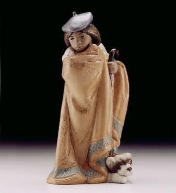 LladroLittle Shepherd 1999-2000Porcelain Figurine