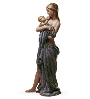 Lladro GENTLE EMBRACE Porcelain Figurine