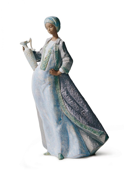 Lladro WATERS OF THE OASIS Porcelain Figurine