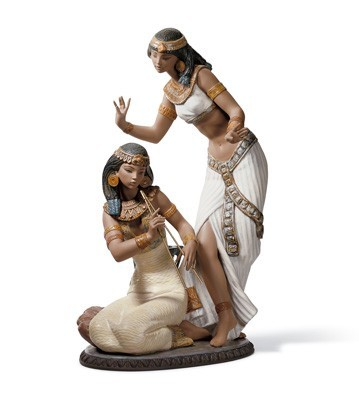 Lladro DANCERS FROM THE NILE