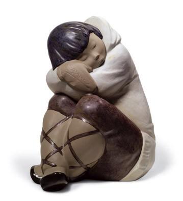 LladroEskimo Slumber (Boy)Porcelain Figurine