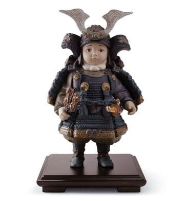 Lladro WARRIOR BOY Porcelain Figurine