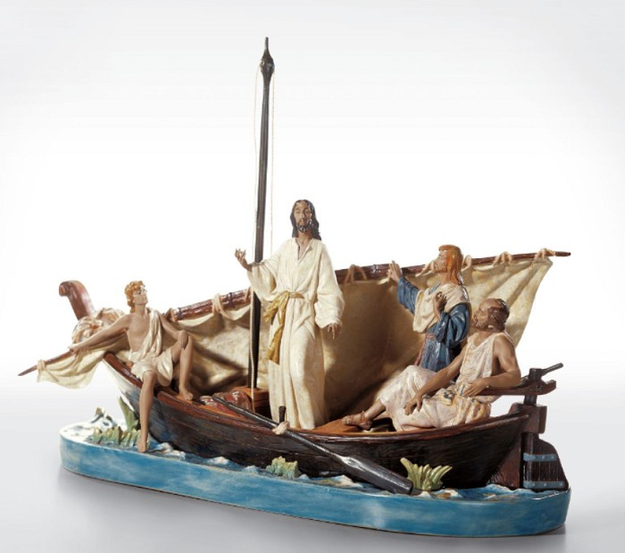 LladroJESUS IN THE TIBERIADES