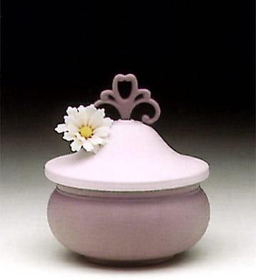 LladroViolet Kublay Sweet BoxPorcelain Figurine