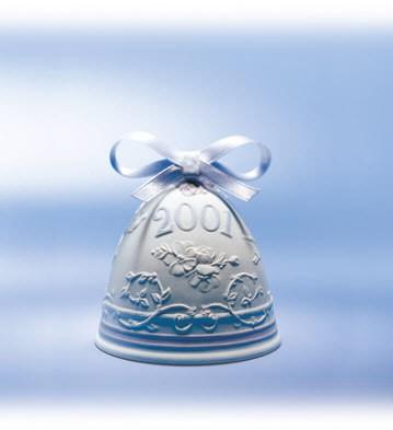 Lladro2001 Christmas Bell
