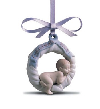 Lladro Baby's First Christmas 2001