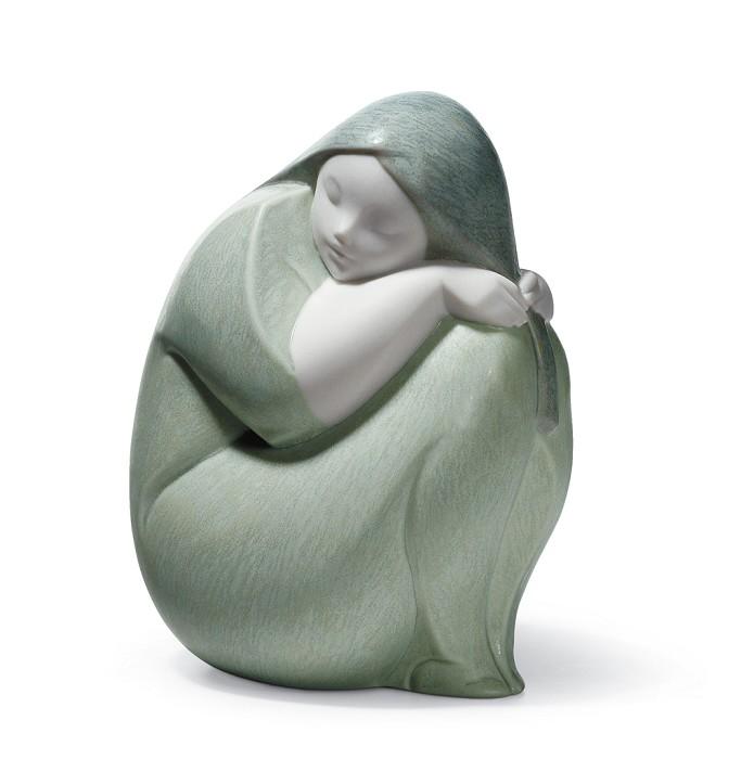 LladroMOON GIRLPorcelain Figurine