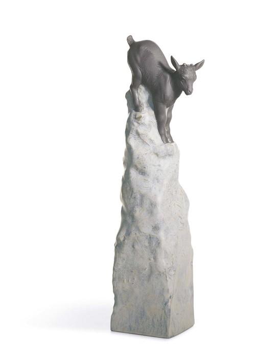 LladroBalance Goat IIPorcelain Figurine