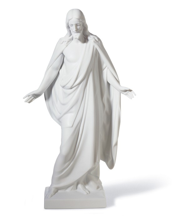 Lladro CHRISTUS Mixed Media Sculpture
