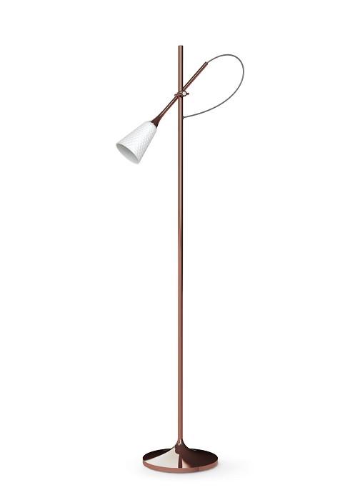 Lladro LightingJamz Floor Reading Lamp Copper