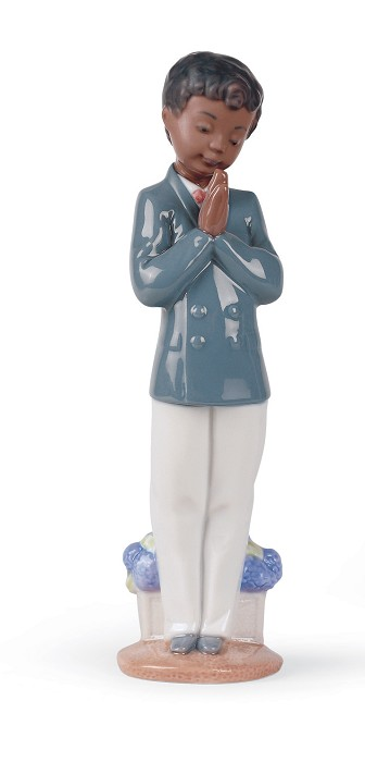 Nao Porcelain African American SUNDAY SCHOOL