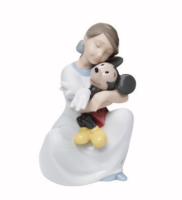 Nao Porcelain I LOVE YOU, MICKEY