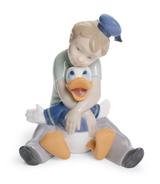 Nao Porcelain DAYDREAMING WITH DONALD