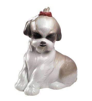 Nao Porcelain PAMPERED SHIH-TZU