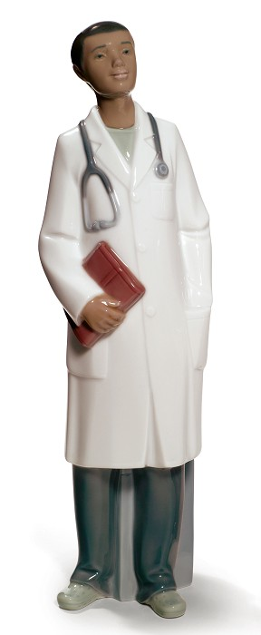 Nao Porcelain African American DOCTOR MALE