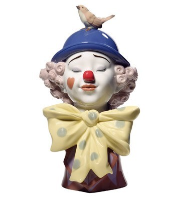 Nao Porcelain A CLOWN'S FRIEND