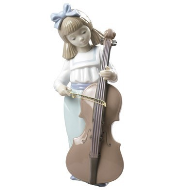 Nao Porcelain GIRL WITH CELLO
