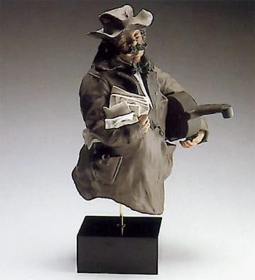 LladroCellistGoyesca Porcelain Figurine