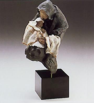 LladroNannyGoyesca Porcelain Figurine
