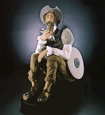 LladroTraveler's RespiteGoyesca Porcelain Figurine