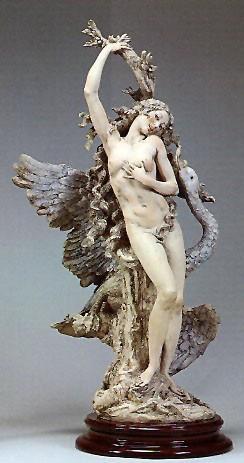 Giuseppe ArmaniLeda And Swan