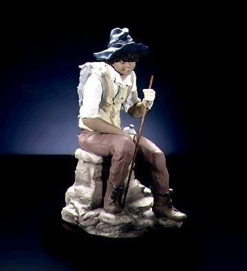 LladroThe JourneyGoyesca Porcelain Figurine