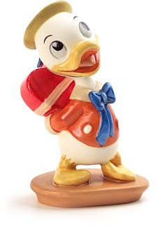 WDCC Disney ClassicsMr Duck Steps Out Dewey I Got Something For You.