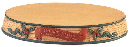 WDCC Disney Classics Display Base Holiday Series
