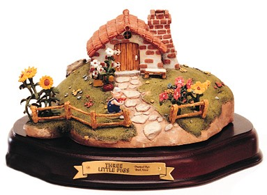 WDCC Disney ClassicsThree Little Pigs Practical Pig Brick House
