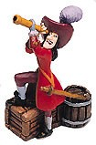 WDCC Disney Classics Peter Pan Captain Hook Miniature