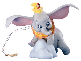 WDCC Disney Classics Dumbo When I See An Elephant Fly Ornament
