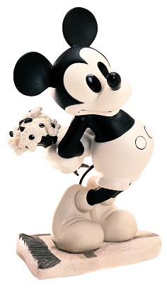 WDCC Disney Classics Puppy Love Mickey Mouse Brought You Something