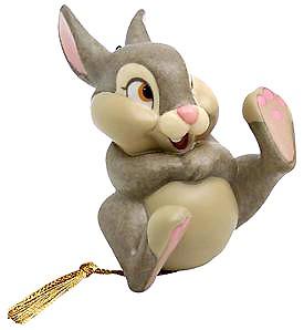 WDCC Disney ClassicsBambi Thumper Belly Laugh Ornament