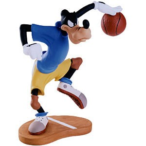 WDCC Disney Classics Double Dribble Goofy Dribbling Down Court