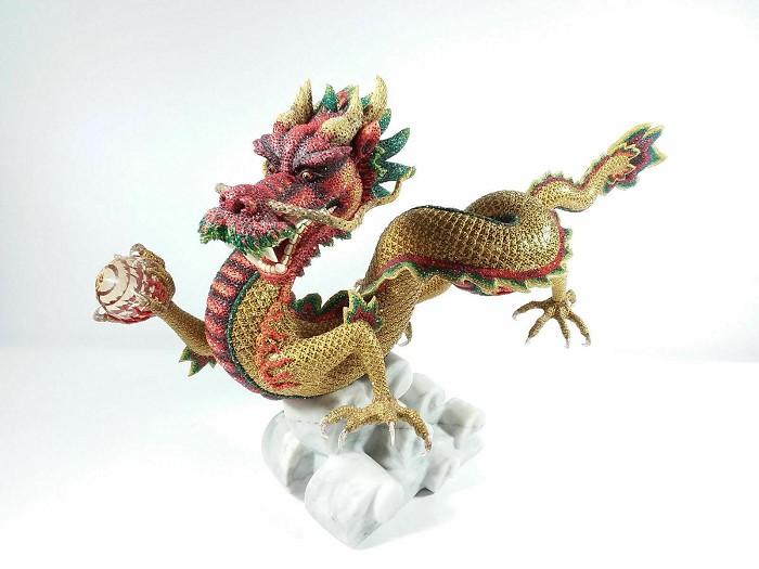 Swarovski CrystalMyriad Jinlong Dragon