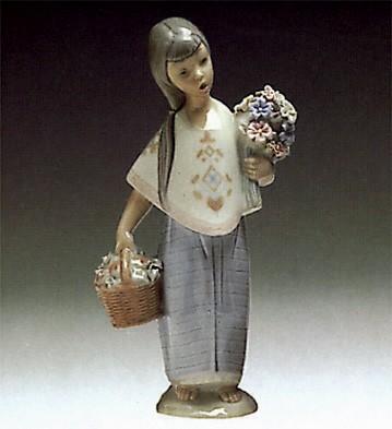 LladroLupita 1969-80Porcelain Figurine