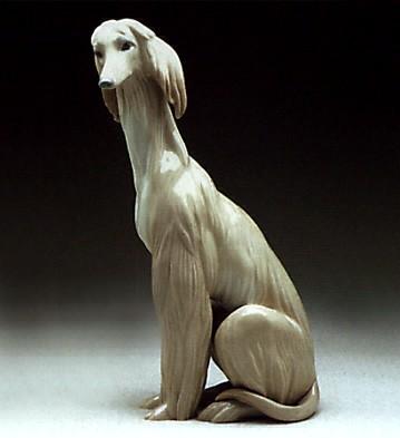 LladroAfghanPorcelain Figurine