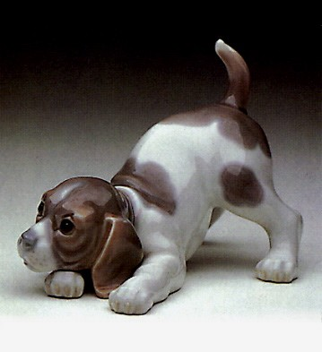 LladroBeagle Puppy 1969-90Porcelain Figurine
