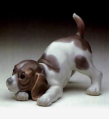 LladroBeagle Puppy 1969-90
