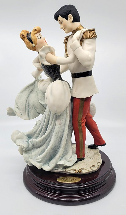 Giuseppe Armani Cinderella And Prince 1997 Disneyana Convention Artist Signed