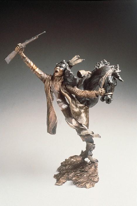 Mark HopkinsGood TradeBronze Sculpture