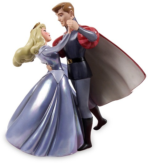 WDCC Disney Classics Sleeping Beauty Princess Aurora And Prince Phillip A Dance In The Clouds (BLUE)