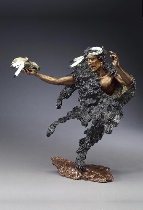 Mark HopkinsMedicine ManBronze Sculpture