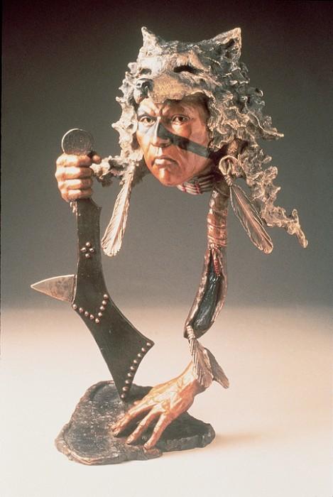 Mark HopkinsI Have Seen TomorrowBronze Sculpture