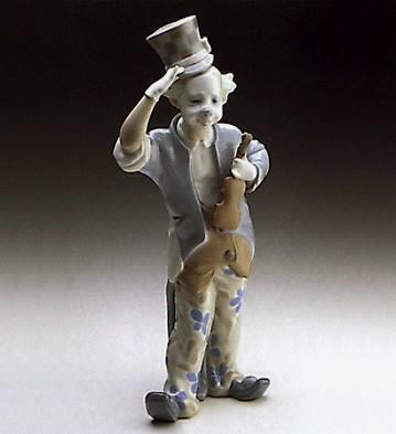 LladroClown 1971-78Porcelain Figurine
