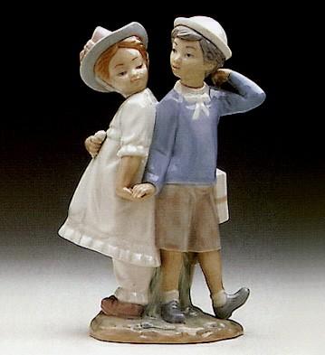 LladroPuppy Love 1971-96Porcelain Figurine