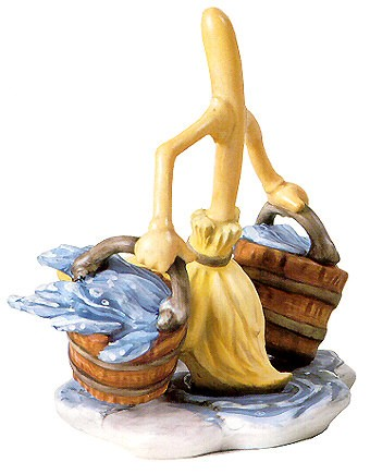 WDCC Disney ClassicsFantasia Broom Bucket Brigade