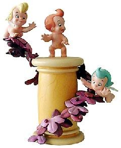 WDCC Disney Classics Fantasia Cupids On Pillar Love's Little Helpers
